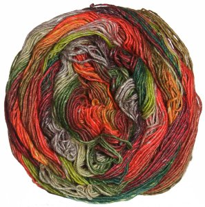 Noro Taiyo Sock Yarn - 23 Brick, Green, Tan
