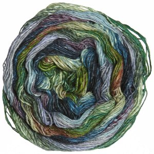 Noro Taiyo Sock Yarn - 25 Green, Blue, Black (Discontinued)