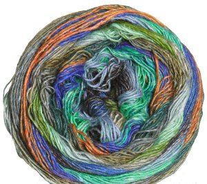 Noro Taiyo Sock Yarn - 26 Sea Green, Orange, Taupe (Discontinued)