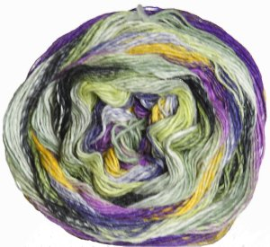 Noro Taiyo Sock Yarn - 30 Pale Yellow, Grey, Purple
