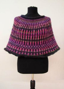 Wisdom Yarns Poems Chunky Capelet Kit - Women's Accessories