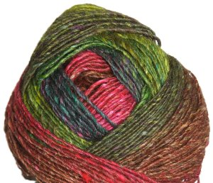 Noro Silk Garden Lite Yarn - 2066 Lime, Green, Pink, Red (Discontinued)