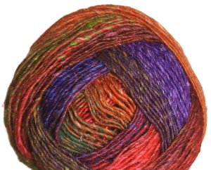 Noro Silk Garden Lite Yarn - 2067 Orange, Purple, Violet (Discontinued)