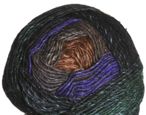 Noro Silk Garden Lite Yarn - 2071 Black, Brown, Sand (Discontinued)
