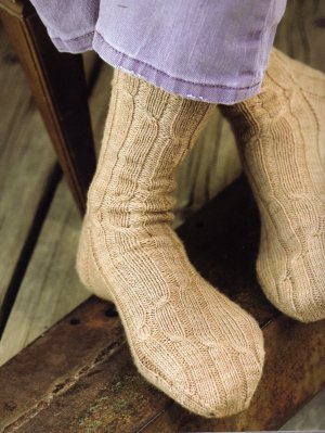 Lorna's Laces Shepherd Sock Freshman Cable Socks Kit - Socks