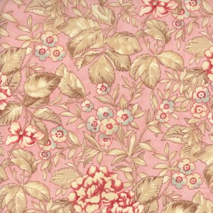 3 Sisters Papillon Fabric - Faded Garden - Blush (4071 14)