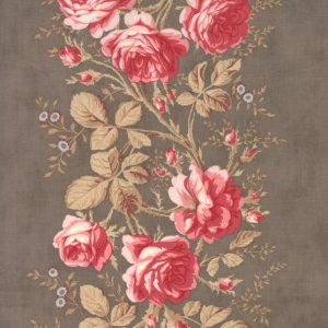 3 Sisters Papillon Fabric - Rose Arbor - Stone (4074 15)