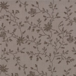 3 Sisters Papillon Fabric - Meandering Ivy - Tonal Stone (4079 15)