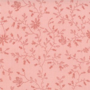3 Sisters Papillon Fabric - Meandering Ivy - Tonal Blush (4079 24)