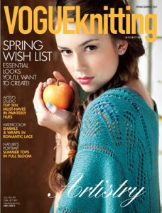 Vogue Knitting International Magazine - '12 Spring/Summer