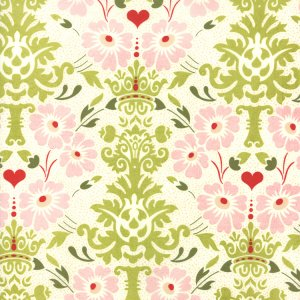 BasicGrey Hello Luscious Fabric - Bouquet - Inviting (30281 11)