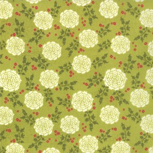 BasicGrey Hello Luscious Fabric - Zest - Rosemary (30282 17)
