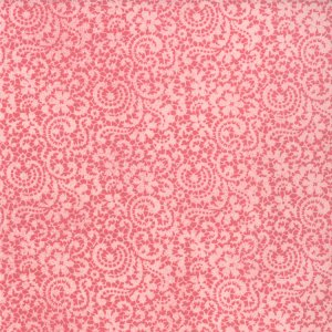 BasicGrey Hello Luscious Fabric - Honeyed - Raspberry Syrup (30286 12)