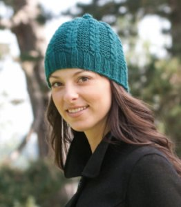 Cascade Pacific Garter Rib Hat Kit - Hats and Gloves