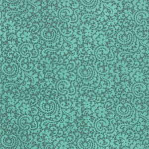 BasicGrey Hello Luscious Fabric - Honeyed - Succulent (30286 16)