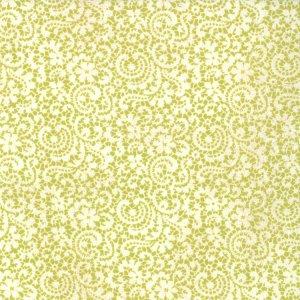 BasicGrey Hello Luscious Fabric - Honeyed - Celery (30286 17)