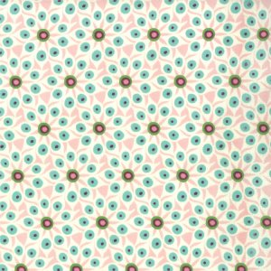 BasicGrey Hello Luscious Fabric - Mix & Match - Bubblegum (30287 11)
