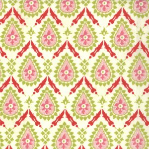 BasicGrey Hello Luscious Fabric - Jalapeno - Inviting (30288 21)