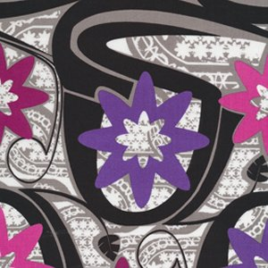 Mark Cesarik Calypso Swing Fabric - Calypso Swing - Purple