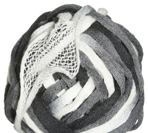 Euro Yarns Rumples Yarn - 05 Black, Grey, White