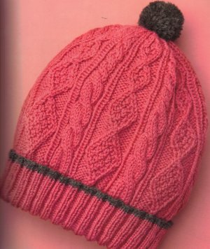 Cascade 220 Sport Cabled Ski Cap Kit - Hats and Gloves