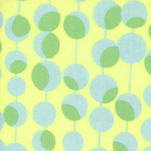Amy Butler Midwest Modern Fabric - Martini - Yellow