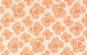 Amy Butler Midwest Modern Fabric - Floating Buds - Linen