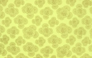 Amy Butler Midwest Modern Fabric - Floating Buds - Sage