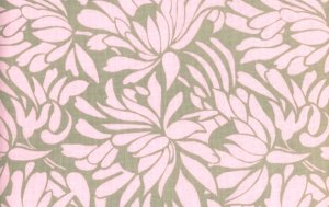 Amy Butler Daisy Chain Fabric - Daisy Bouquet - Grey