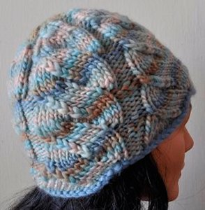 Crystal Palace Chunky Mochi Lettuce Cabled Hat Kit - Hats and Gloves