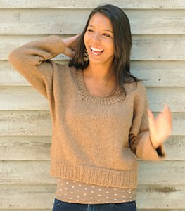 Blue Sky Alpacas Techno Flugel Pullover Kit - Women's Pullovers