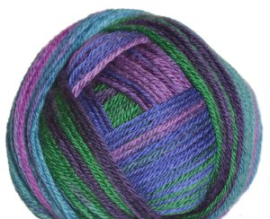 Classic Elite Liberty Wool Print Yarn - 7865 Violet Glen (Discontinued)