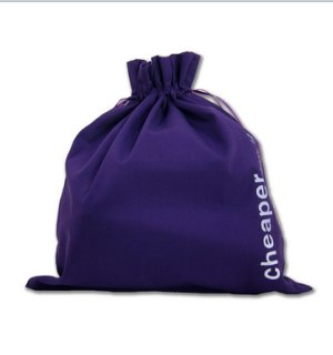 della Q Edict Cotton Pouch (Style 118-2) - Cheaper Than Therapy - Purple