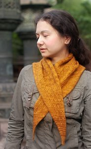 Madelinetosh Tosh Merino Light Apis Dorsata Scarf Kit - Scarf and Shawls