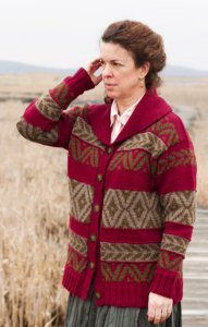 Cascade Eco+ and Eco Wool Takoma Cardigan Kit - Women's Cardigans
