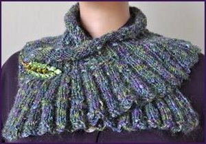 Crystal Palace Moonshine Neck Wrap Kit - Scarf and Shawls
