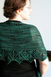 Lorna's Laces Shepherd Sport Asking for Roses Shawl Kit - Scarf and Shawls