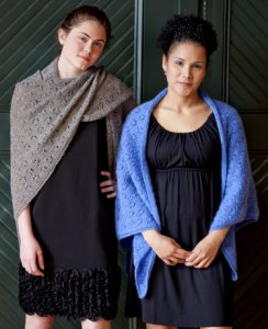 Classic Elite Eyelet Circles Shawl Kit - Scarf and Shawls