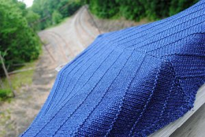 Rowan Denim Boneyard Shawl Kit - Scarf and Shawls