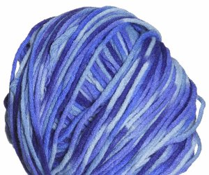 Crystal Palace Cuddles Print Yarn - 7005 Denim Blues