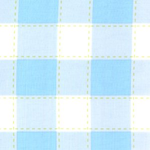 Annette Tatum Little House Fabric - Picnic - Blue