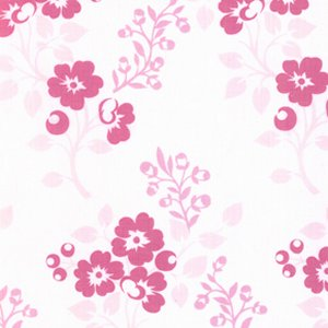 Annette Tatum Little House Fabric - Blossom - Pink
