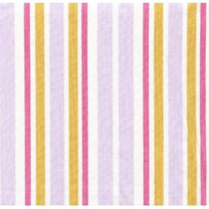 Annette Tatum Little House Fabric - Ice Cream Stripe - Lilac