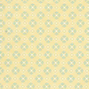Annette Tatum Bohemian Fabric - Checkers - Banana