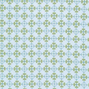 Annette Tatum Bohemian Fabric - Checkers - Teal