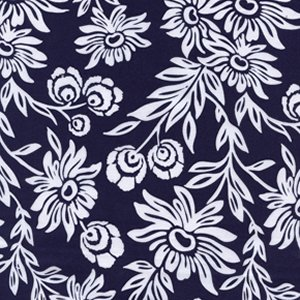 Joel Dewberry Modern Meadow Fabric - Handpicked Daisies - Lake