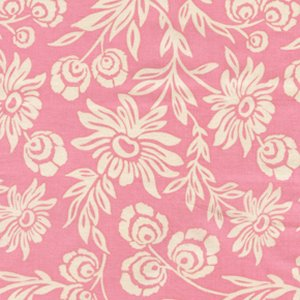 Joel Dewberry Modern Meadow Fabric - Handpicked Daisies - Pink