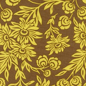 Joel Dewberry Modern Meadow Fabric - Handpicked Daisies - Sunglow