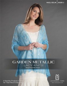Nazli Gelin Books - Garden Metallic Lacy Knits