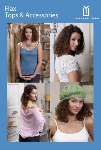 Universal Yarns Pattern Books - Flax Tops and Accessories